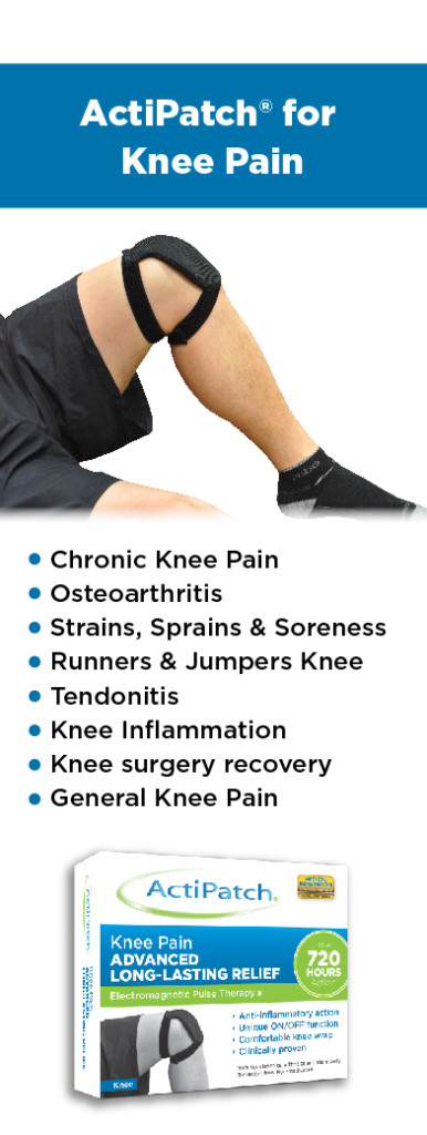 ActiPatch Knee Pain Indiciations Table 12-5-14-01